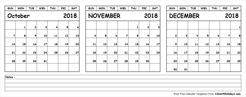 Month Calendar Printable Sept Oct Nov Dec | Template Calendar Printable with regard to Month Calendar Printable Sept Oct Nov Dec