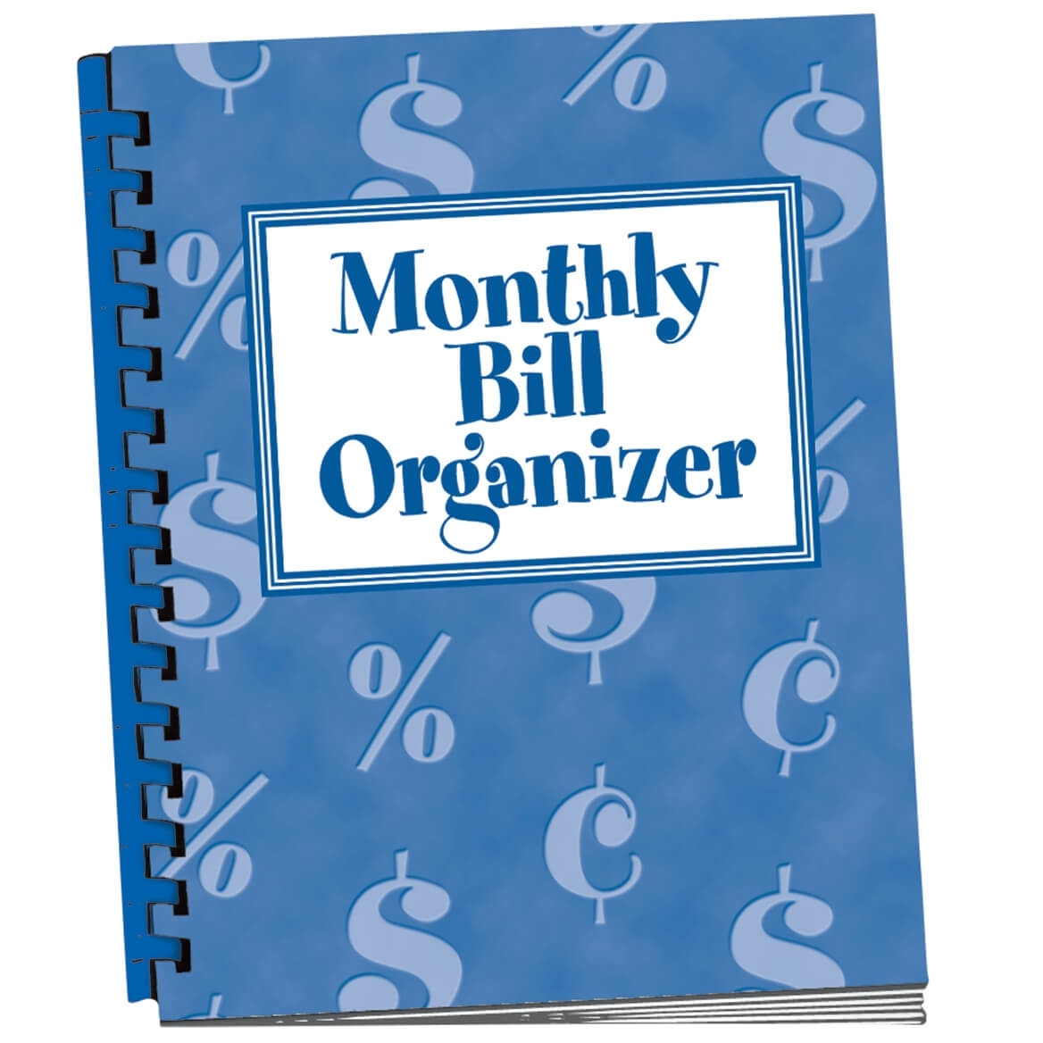 Monthly Bill Organizer - Bill Organizer Book - Miles Kimball pertaining to Month At A Glance Bill Organizer