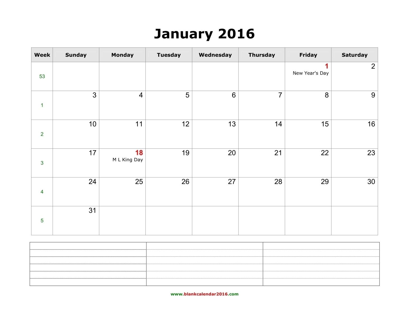 Monthly Calendar Notes | Week Printable Calendar intended for Blank 3 Month Printable Monthly Calendar