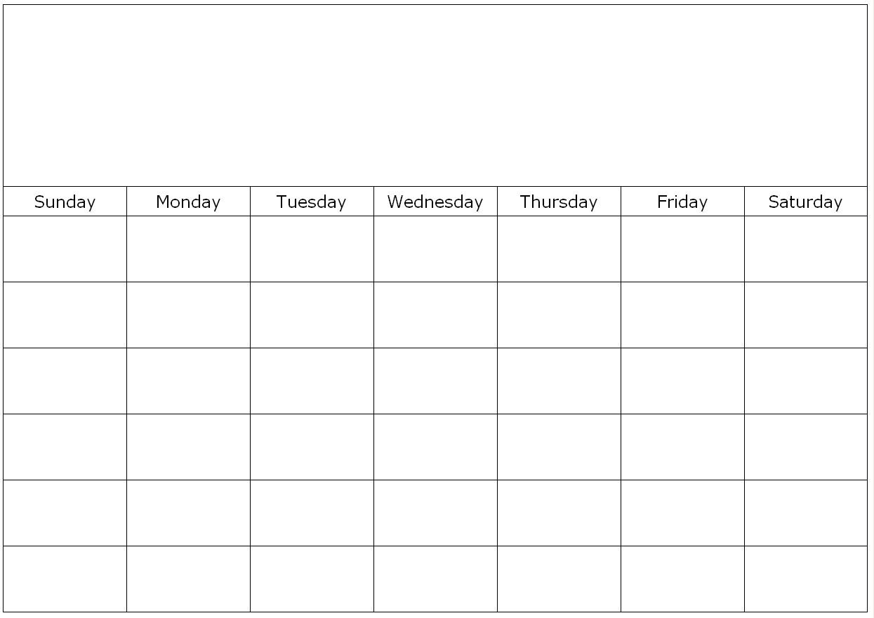 Monthly-Calendar-Template-School-Calendar-That-Is-Printable-Pdf-Doc within School Calendar Template Monday Thursday