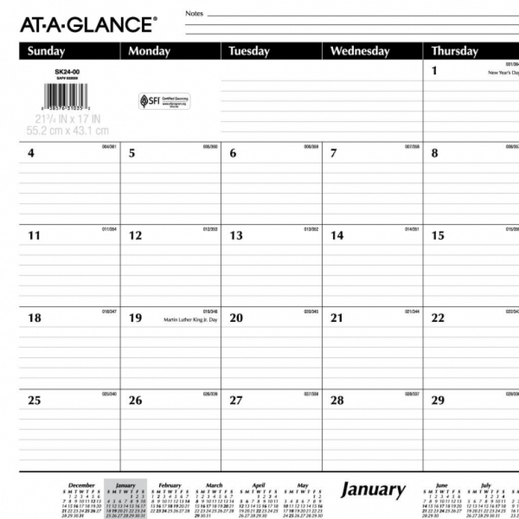 Monthly Calendar With Lines | 2018 Yearly Calendar regarding Blank Monthly Calendar Printable With Lines