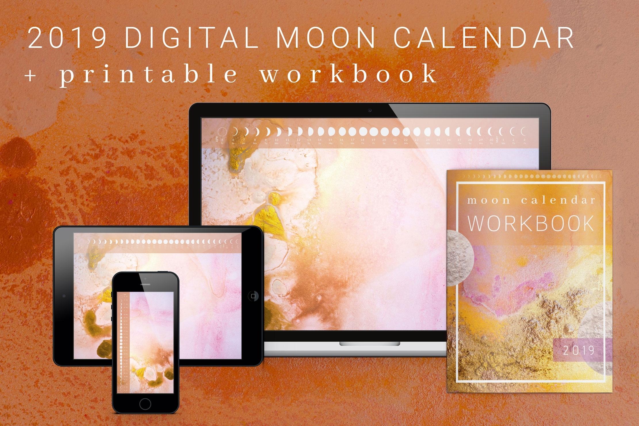 Moon Calendar - Dream Inspired Design within Desktop Calendar With Lunar Cycle