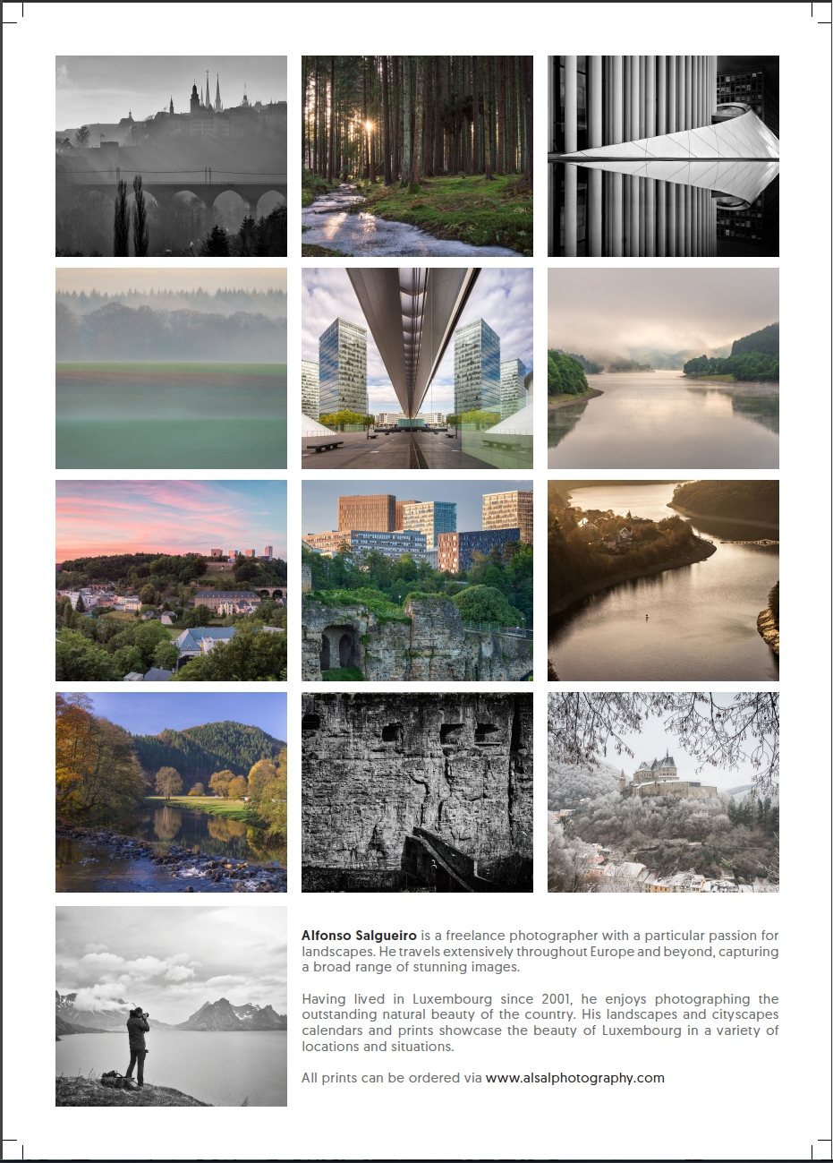 My 2018 Calendars Are Ready!! — Alfonso Salgueiro [⦵] Photography pertaining to Calendar Prints Related To Beauty Of Water
