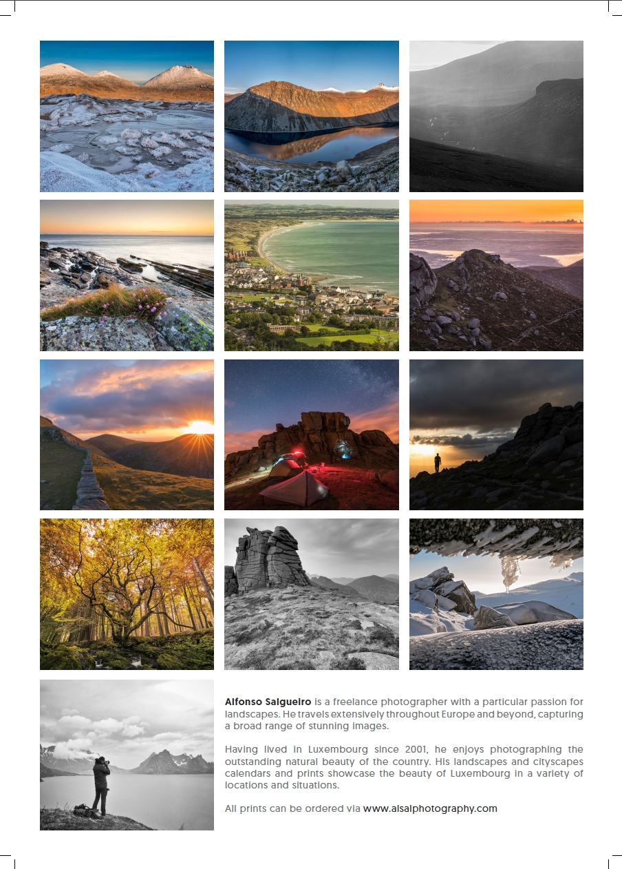 My 2018 Calendars Are Ready!! — Alfonso Salgueiro [⦵] Photography with Calendar Prints Related To Beauty Of Water