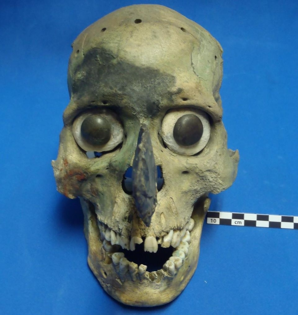 Mystery Of Morbid Aztec Skull Masks Solvedarchaeologists throughout Aztec Masks And Ther Meanings