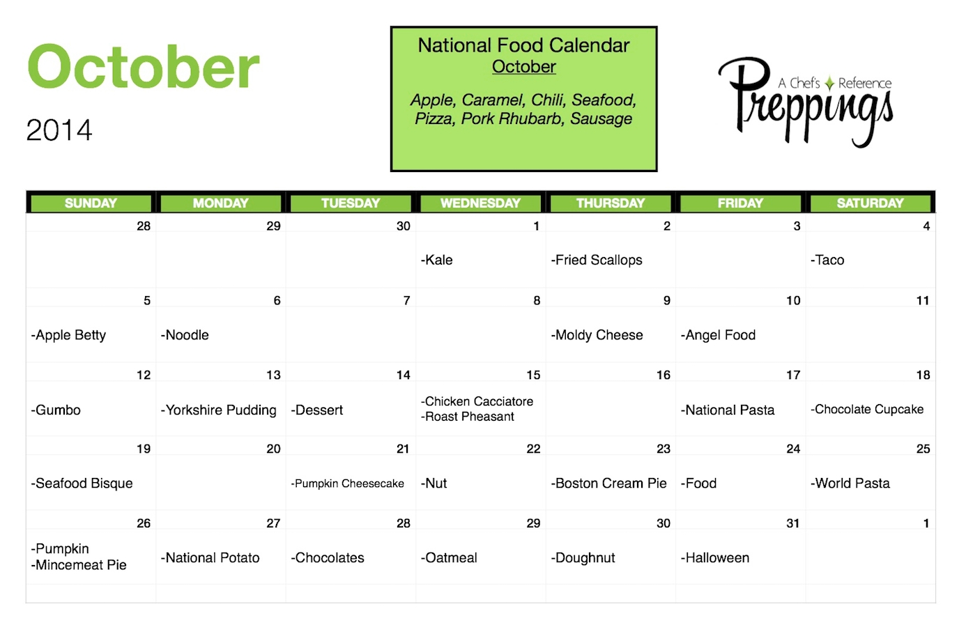 National Food July Calendar Day intended for July National Food Day Calendar
