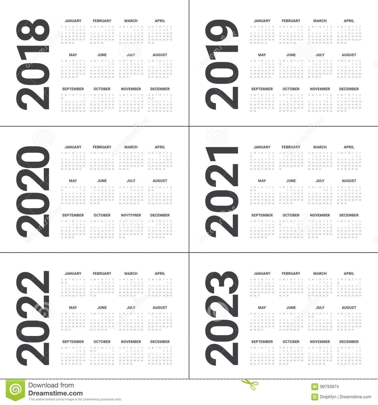 One Page Annual Calendar Printable | Template Calendar Printable for 2023 Calendar Printable One Page E Printable