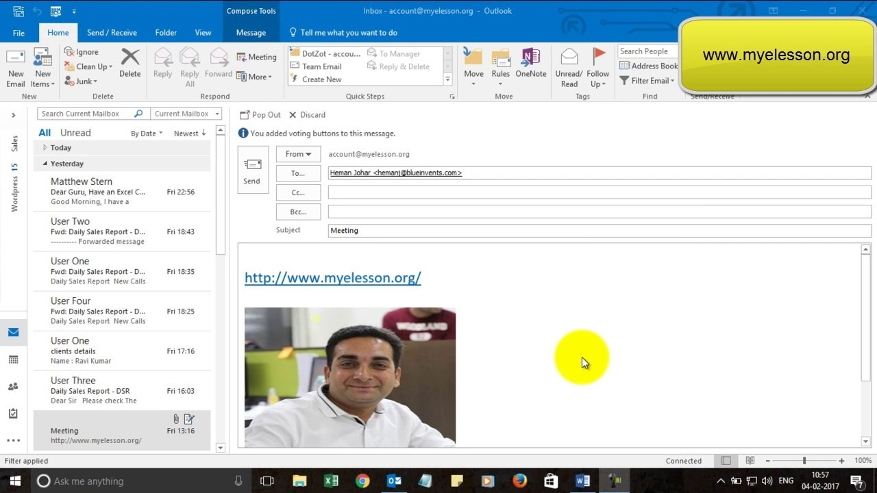 Open Other Peoples Calendar In Outlook 2016 - Youtube in How To See A Calendar In Outlook