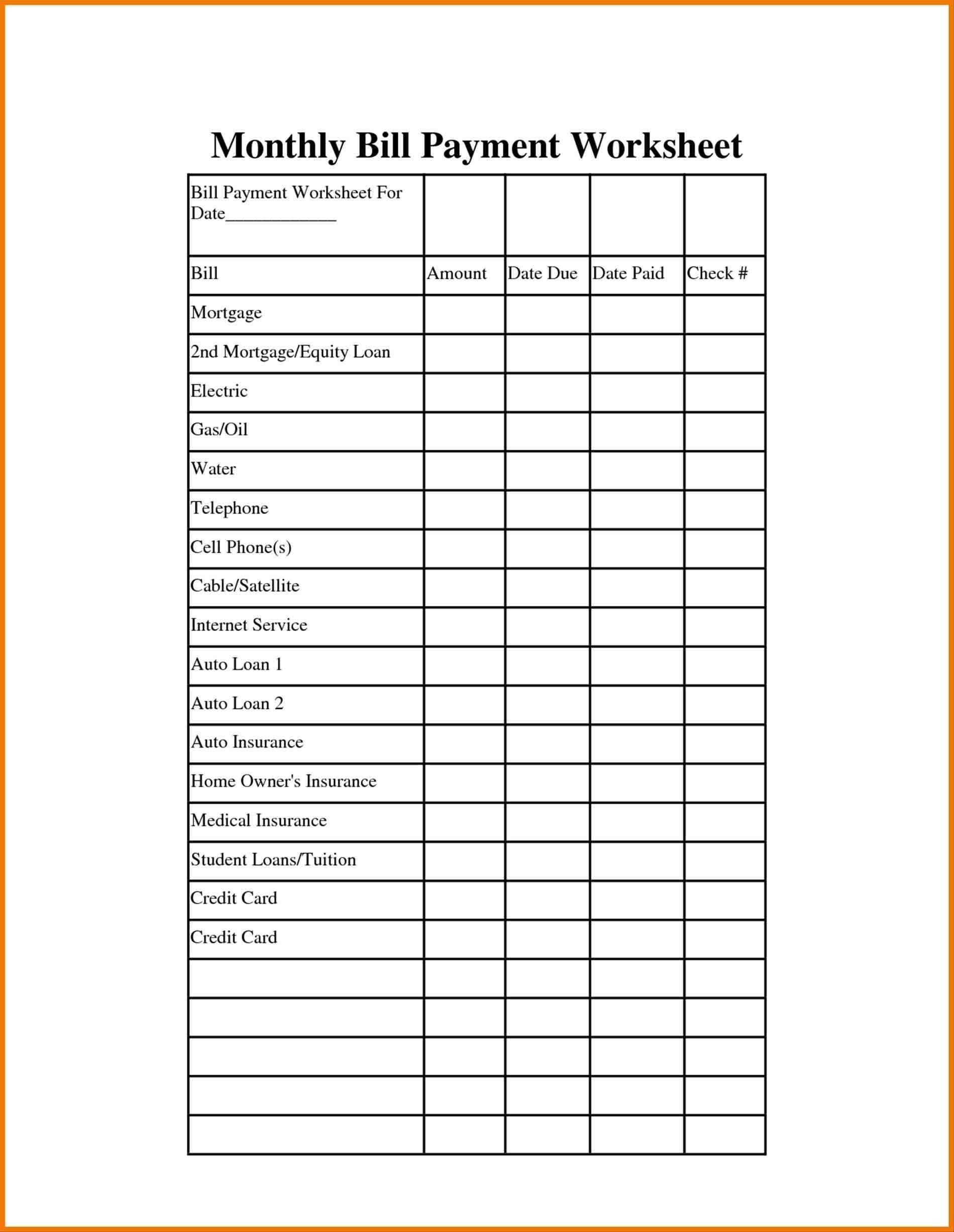 Pay Free Online Bill Free Bill Calendar Template Pay Calendar with Free Printable Monthly Bill Pay Chart