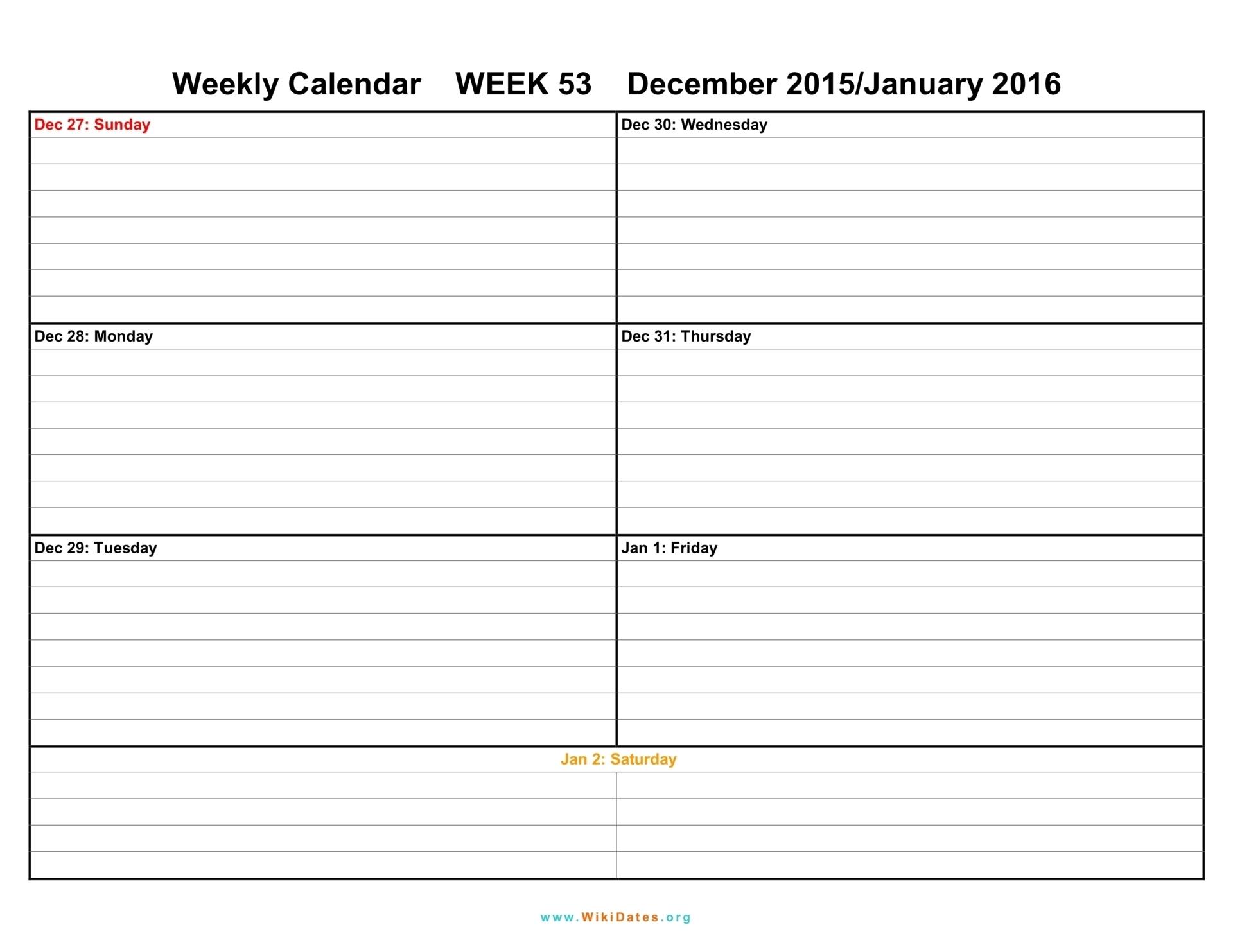 Pdf-Printable-Weekly-Calendar-Template-July intended for Free Printable Weekly Calendars Pdf
