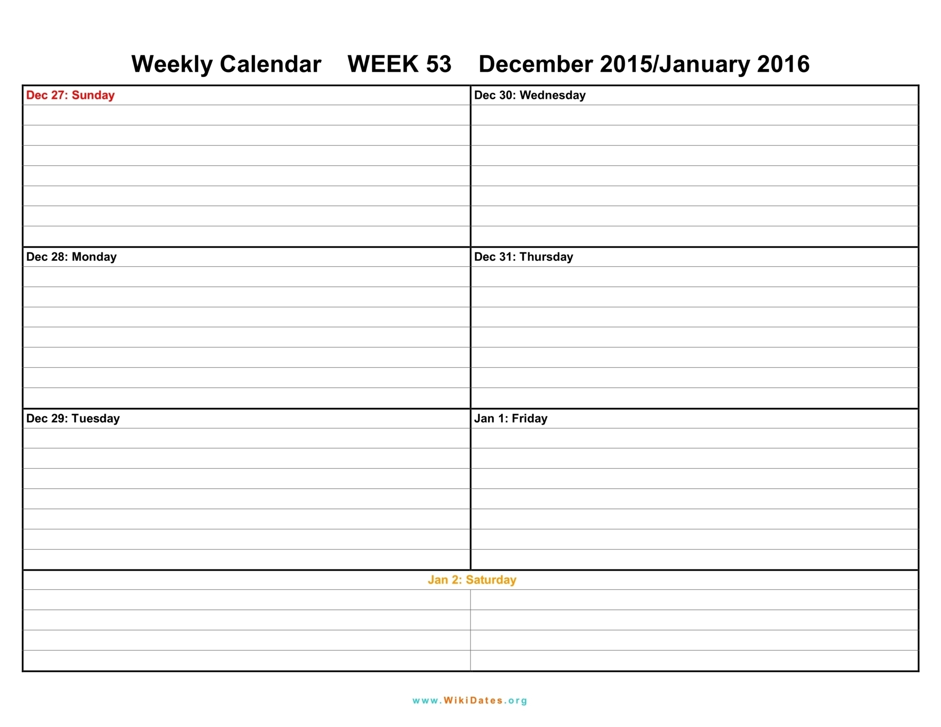 Pdf-Printable-Weekly-Calendar-Template-July throughout Free Printable Weekly Calendar Templates