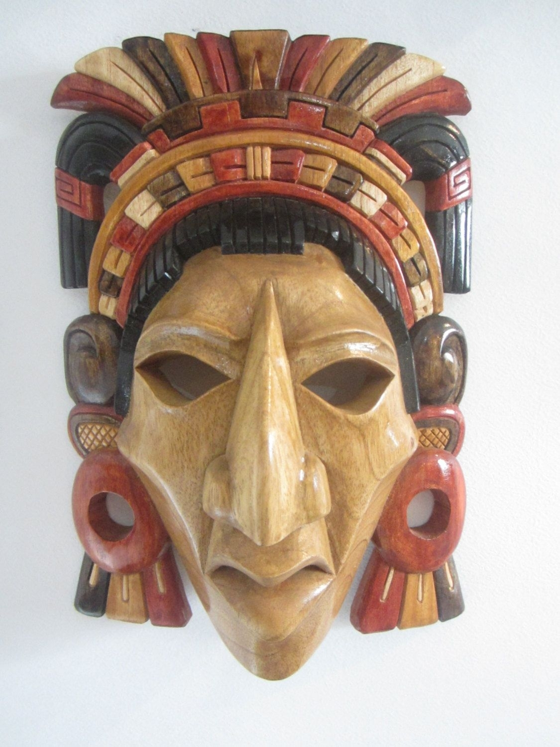 Pinbradley Harris On Heads And Masks | Aztec Mask, Ceramic Mask intended for Aztec Masks And Ther Meanings