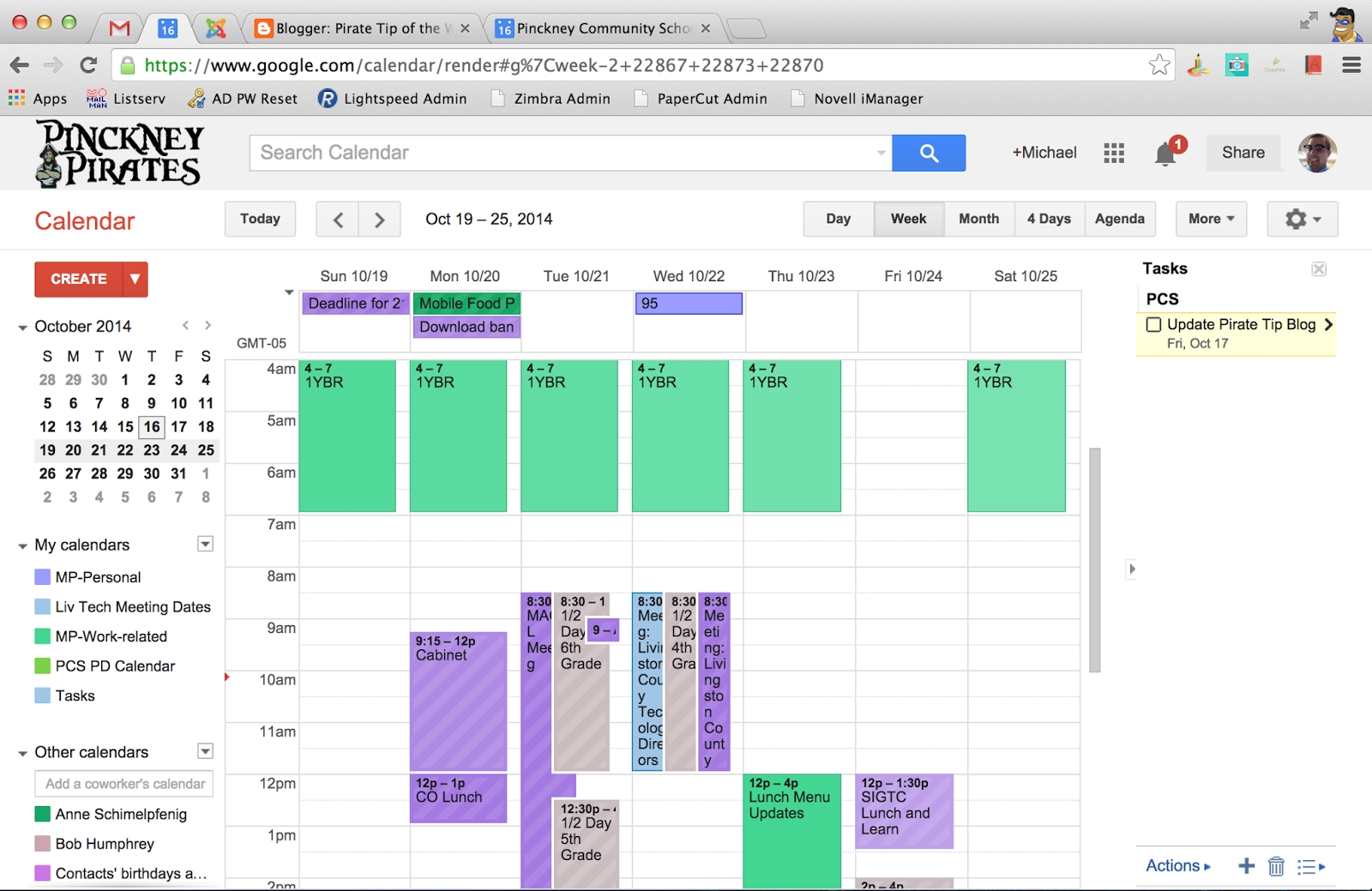 Pirate Tip Of The Week: Google Calendar Appointment Slots throughout Appointment Page With Time Slots
