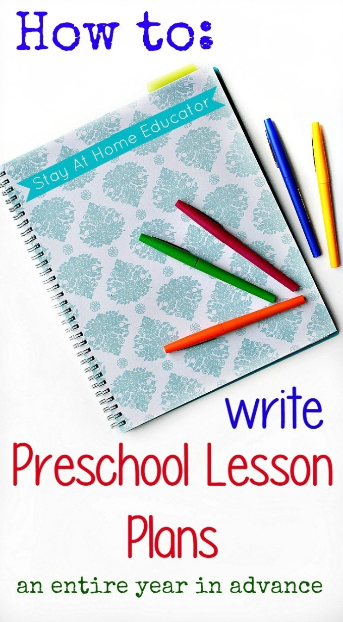 Preschool Lesson Planning A Year In Advance with regard to Weekly Upk Lesson Plan Template