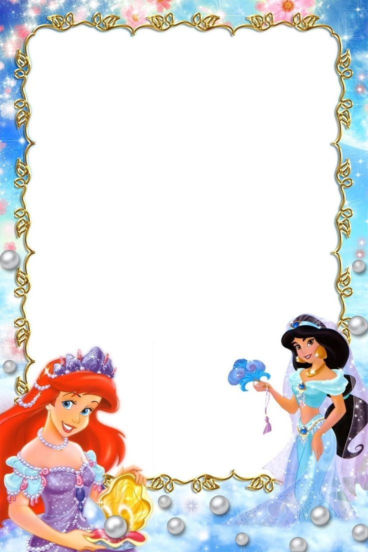 Princess Border Frames Pictures | ◇Frames & Borders◇ | Pinterest pertaining to Disney Princess Letter Head Templates Free