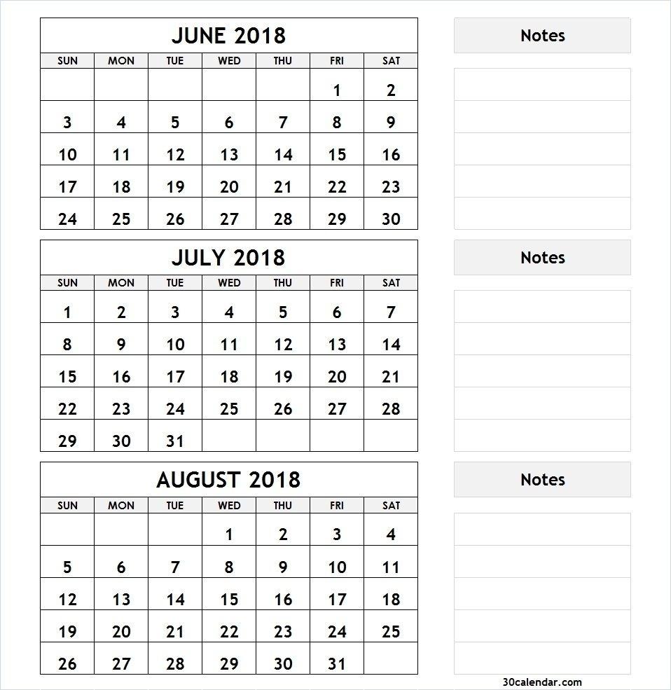 Print Calendar 3 Months • Printable Blank Calendar Template for 3 Month Calendar To Print