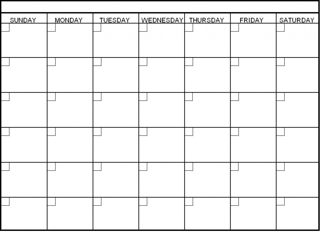 Printable 4 Week Calendar Editable Blank 2017 Amazing Mightymic In for Blank 4 Week Calendar Printable