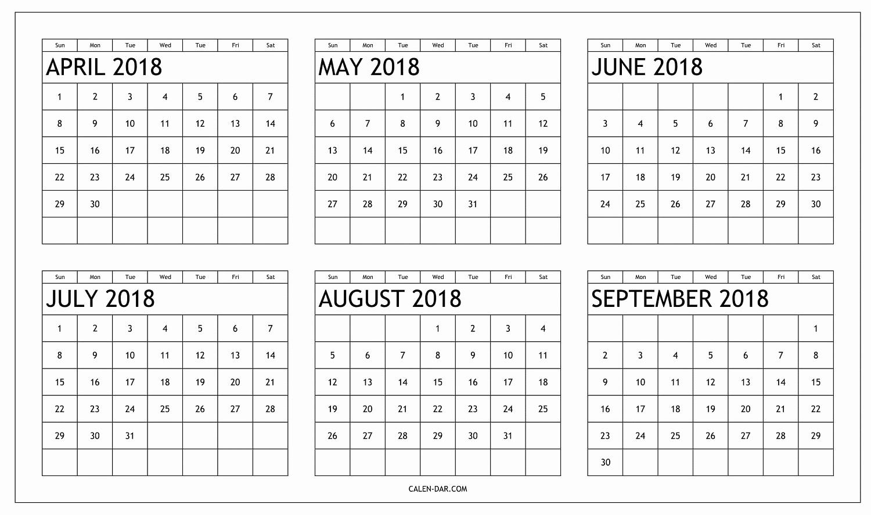 Printable 6 Month Calendar 2018 Lovely September 2018 To February regarding Free Printable 6 Month Calendar
