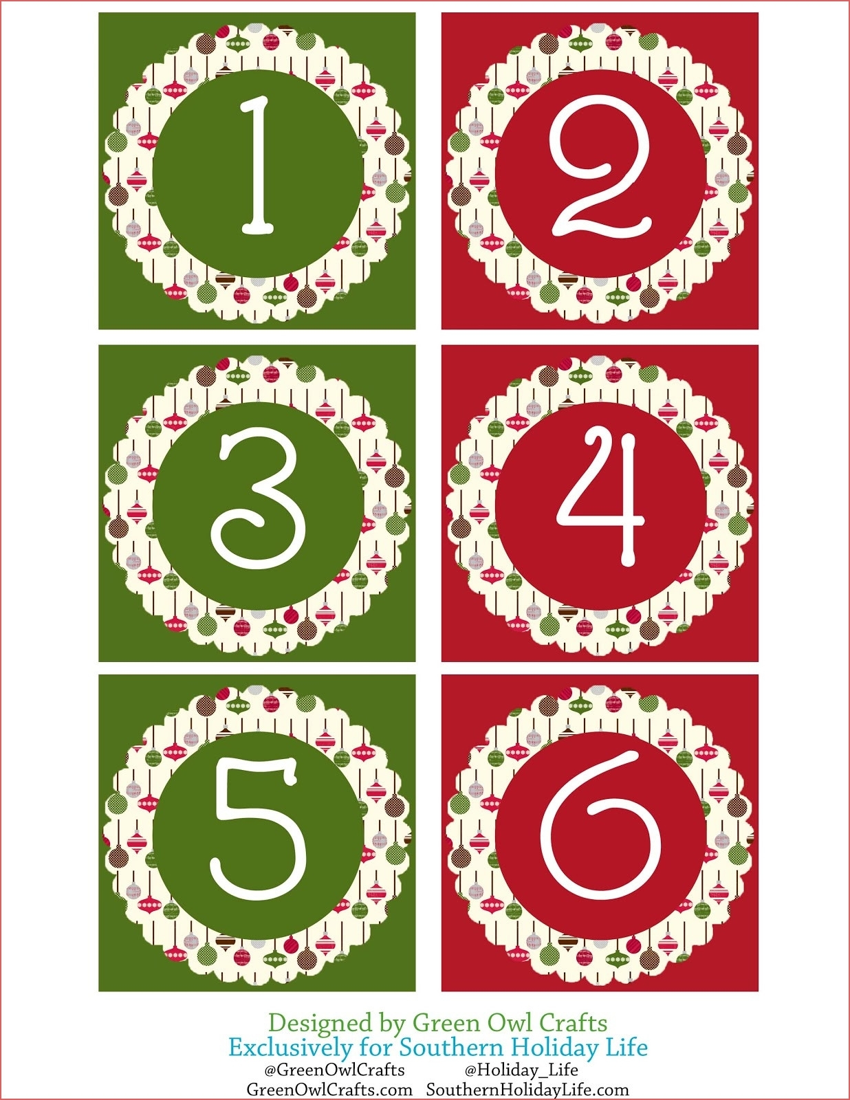 Printable Advent Calendar Number Calendar Template 2019 Calendar with regard to Advent Calendar Printable Numbers Calendar Template