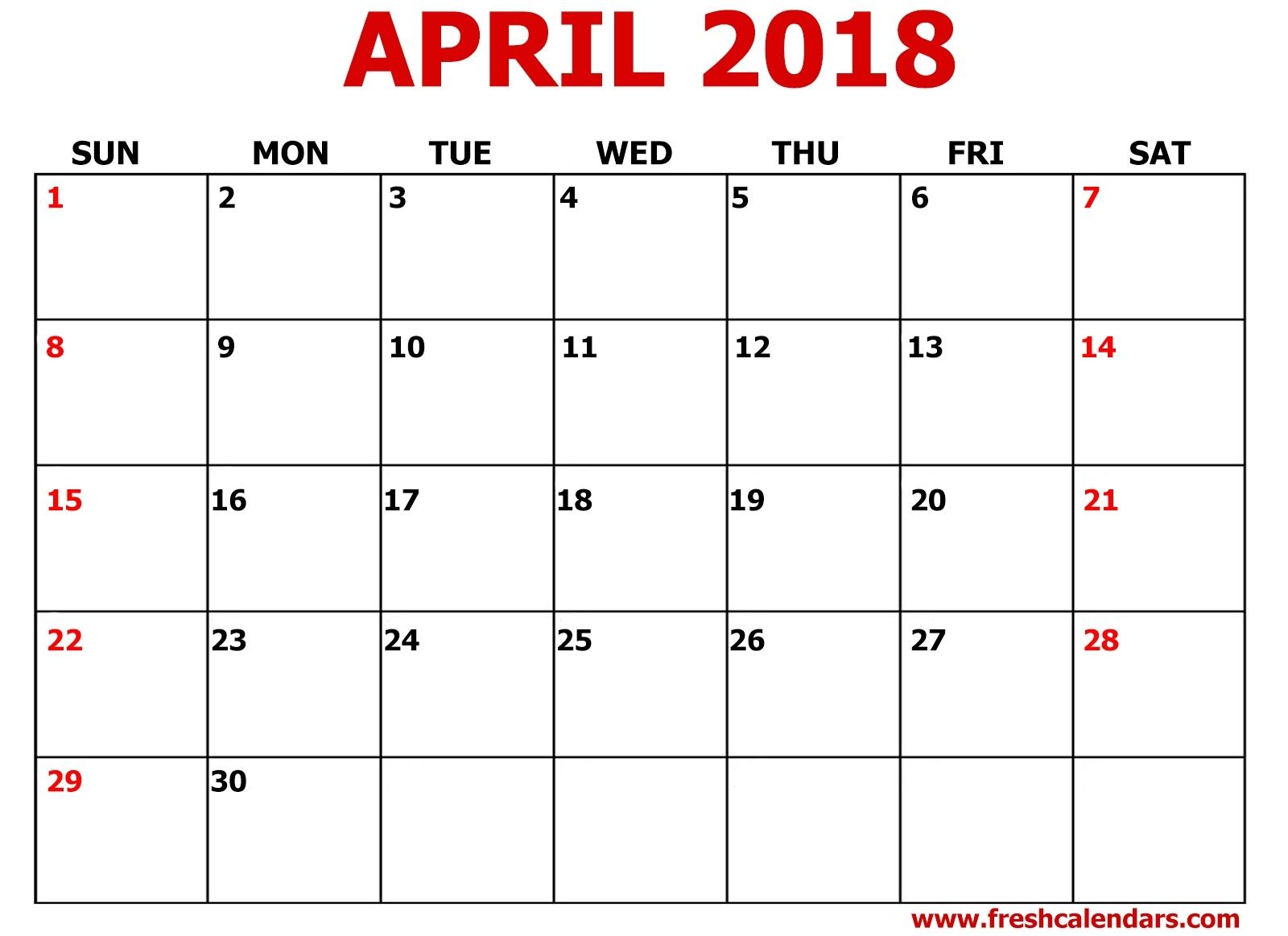 Printable Calendar 2018 8 5 X 11 | Printable Calendar 2019 intended for Free Printable Calendar Templates 8 X 10