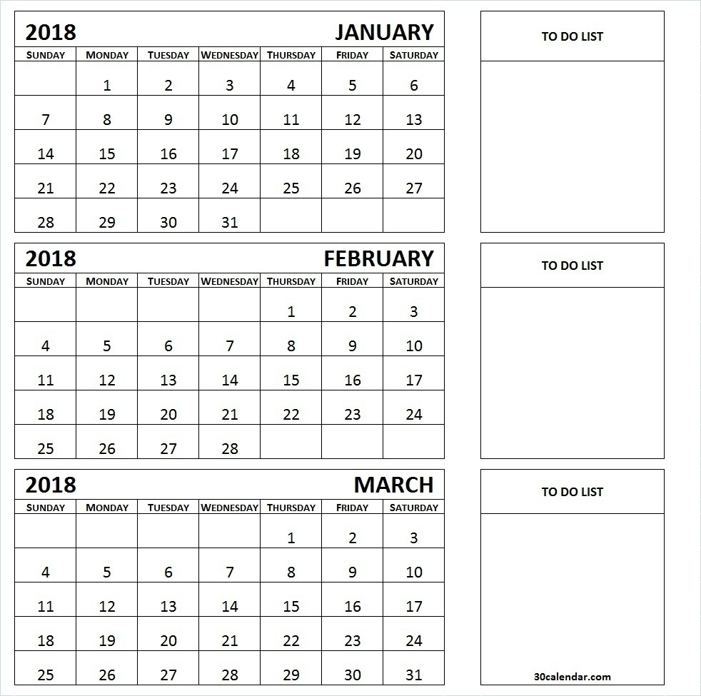 Printable Calendar 3 Month 2019 • Printable Blank Calendar Template intended for 3 Month Printable Calendar Templates