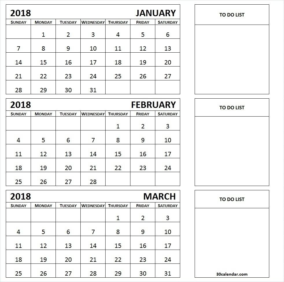 Printable Calendar 3 Month 2019 • Printable Blank Calendar Template within Printable 3 Month Calendar Templates