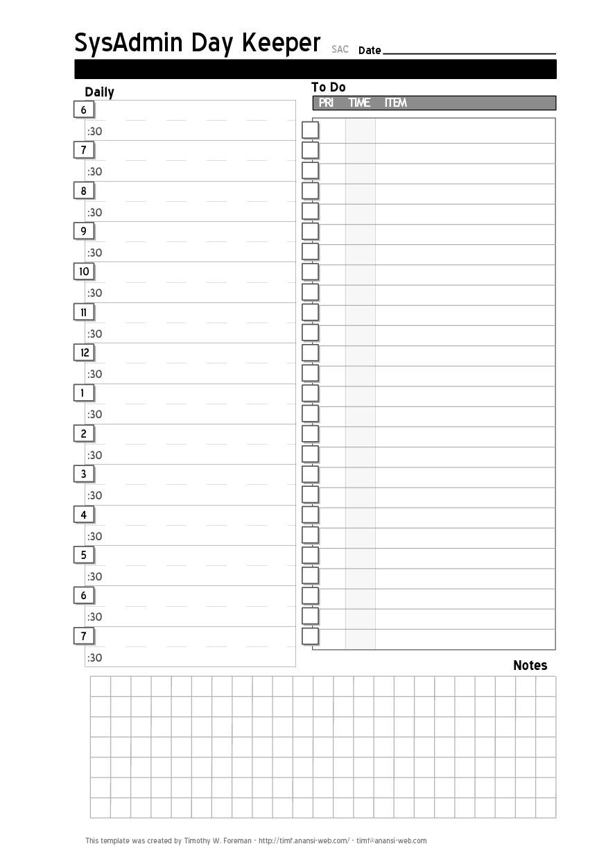 Printable Calendar Day Planner | Printable Calendar 2019 inside Calendar Day Planner Templates Free