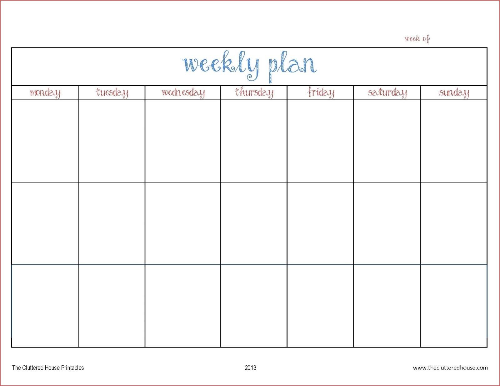 Printable Calendar Days Printable 4 Week Calendar Blank Days Of Week regarding Blank 4 Week Calendar Printable