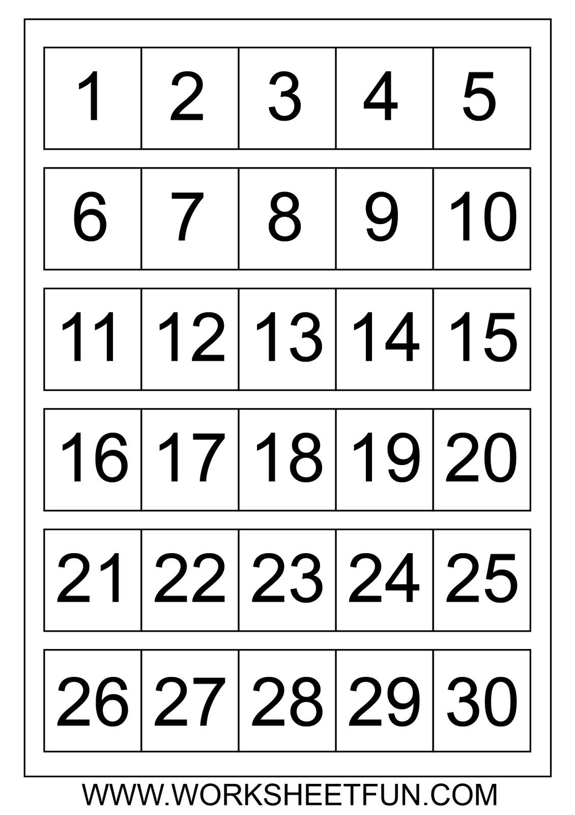Printable Calendar Numbers 1 31 Free Calendar Printable Template pertaining to Free Template Printable Calendar Numbers