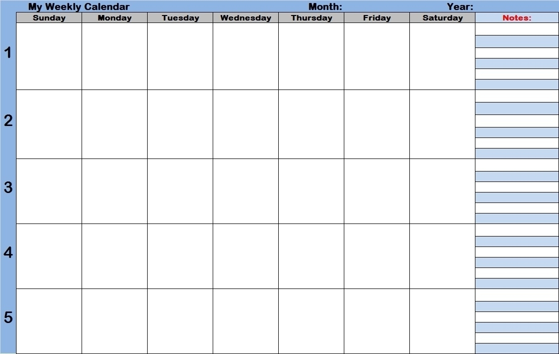 Printable Calendars With Time Slots | Template Calendar Printable in Monthly Calendar With Time Slots