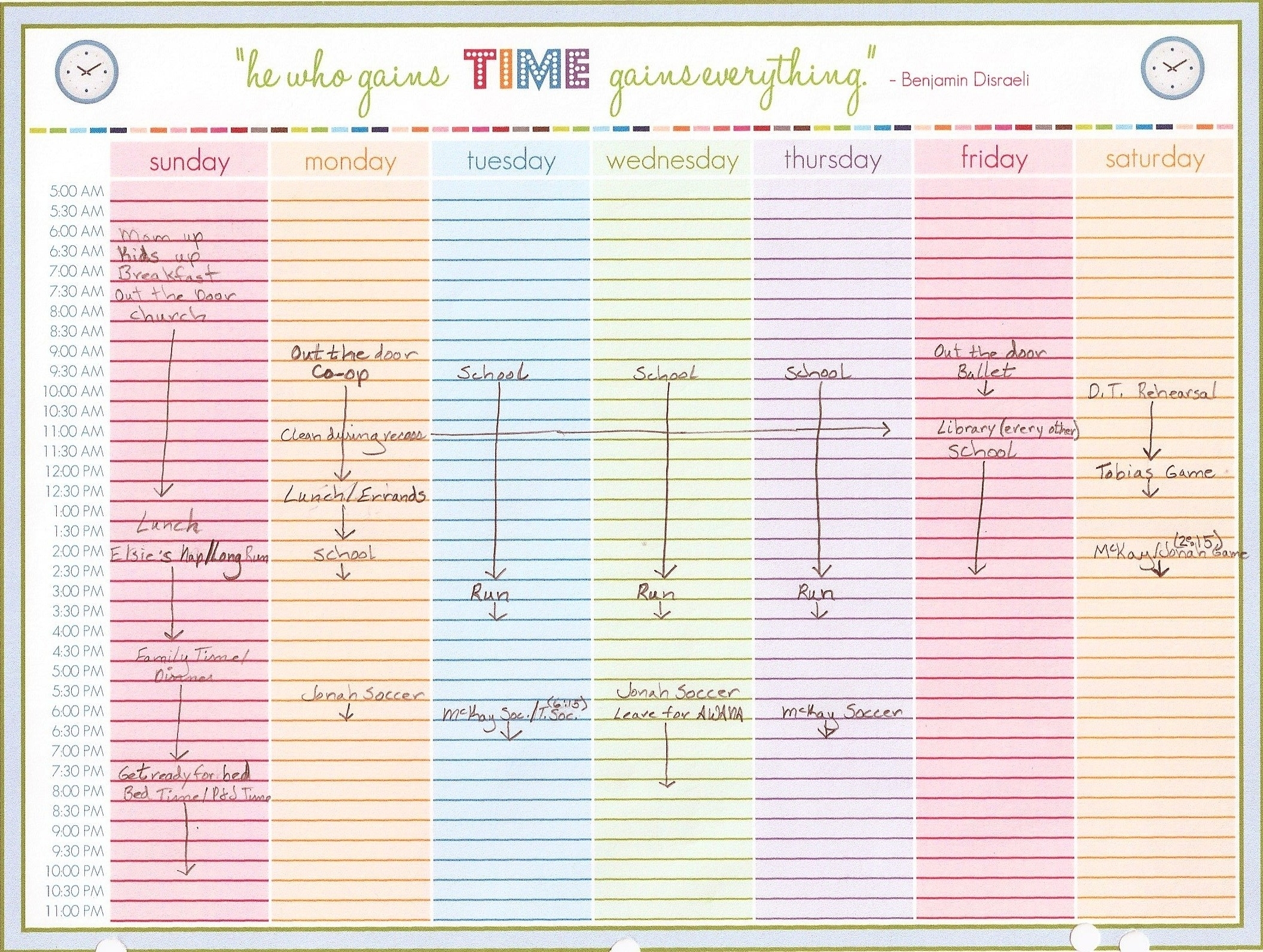 Printable Daily Calendar With Time Slots | Printable Calendar April pertaining to Blank Schedule Template With Time Slots