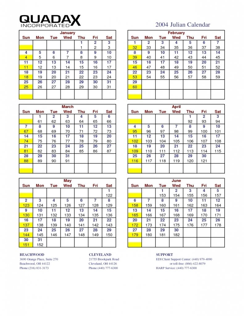 Printable Julian Calendar 2017 - Printable Calendar & Birthday Cards inside Julian Year Calendar 2015 Printable
