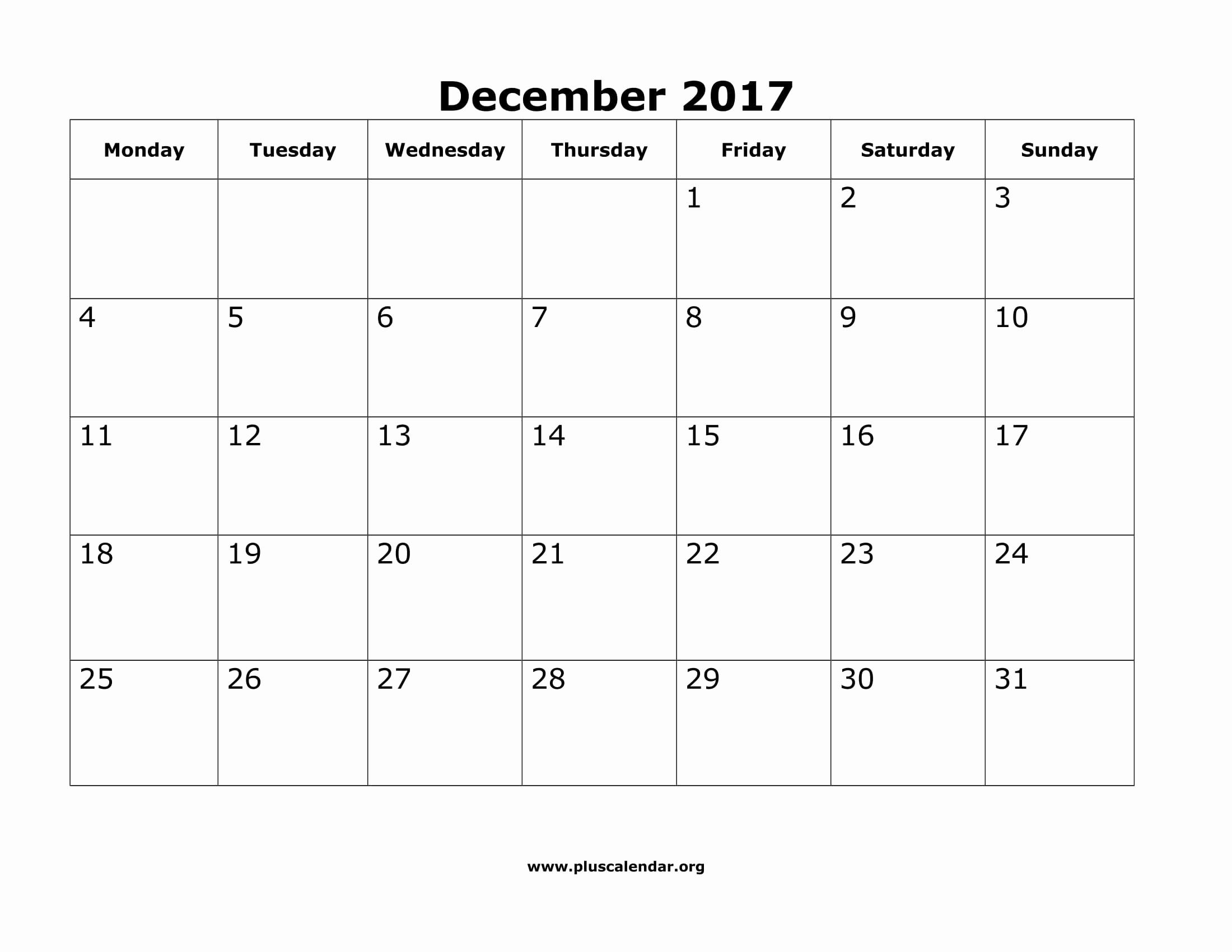 Printable Monday Through Friday Calendar Lovely November 2018 Monday with Monday Through Friday Calendar Template