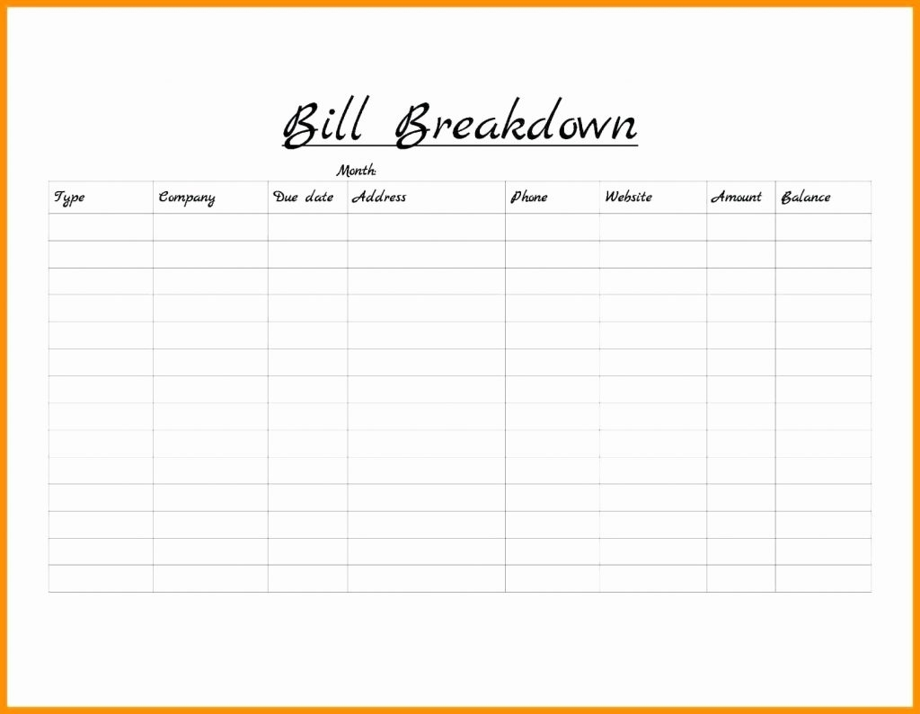 Printable Monthly Bill Organizer Template | Camisonline throughout Printable Monthly Bill Organizer Template