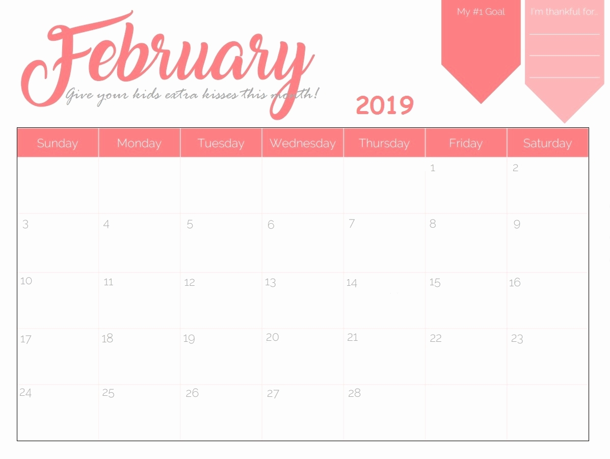 Printable Planner Calendar 2019 Month 2 Page Free Printable 2019 throughout 2 Page Monthly Calendar Printable Free