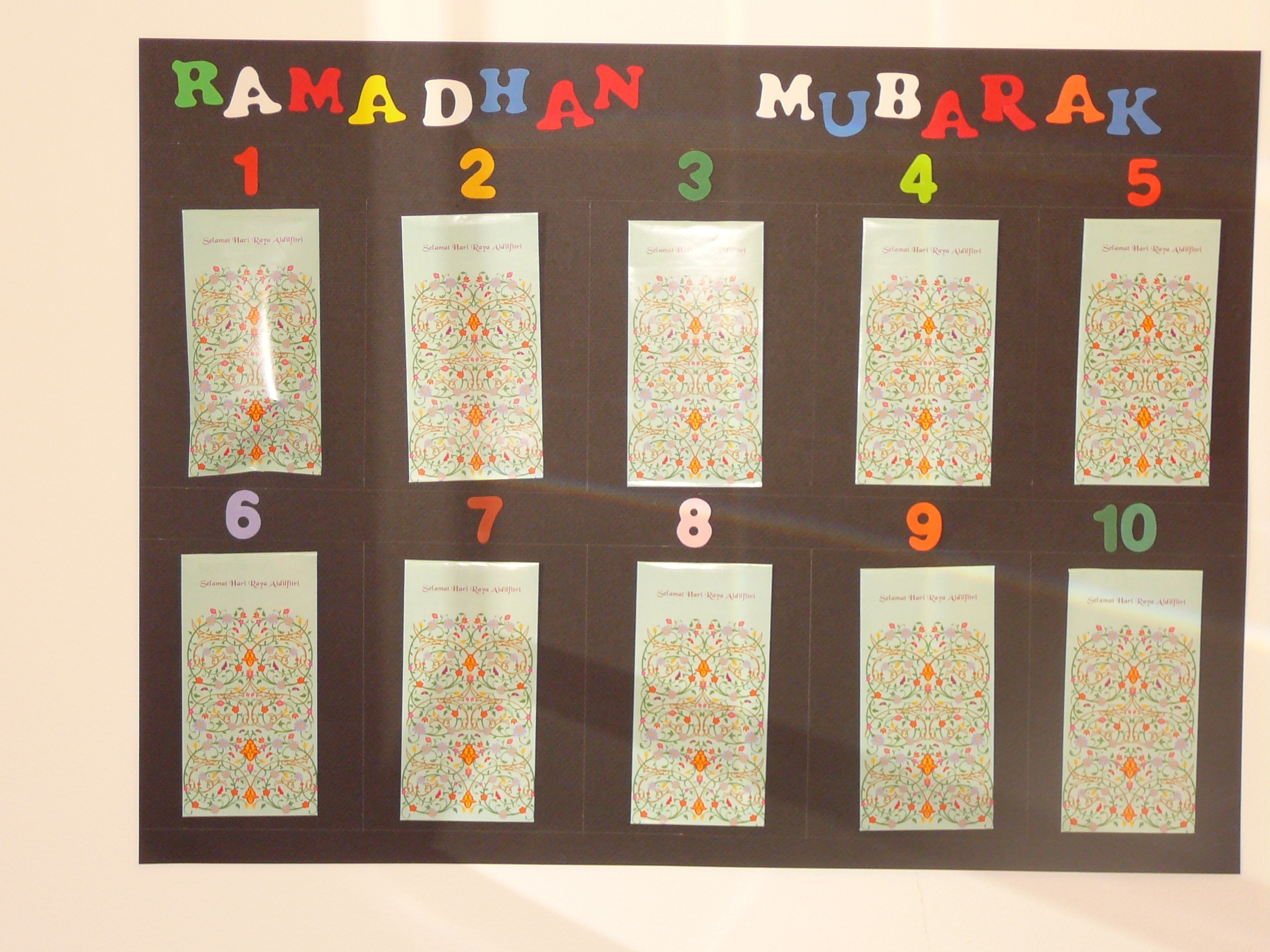 Ramadan Advent Calendar | Muslim Learning Garden pertaining to Advent Calendar Arts And Crafts For Preschool