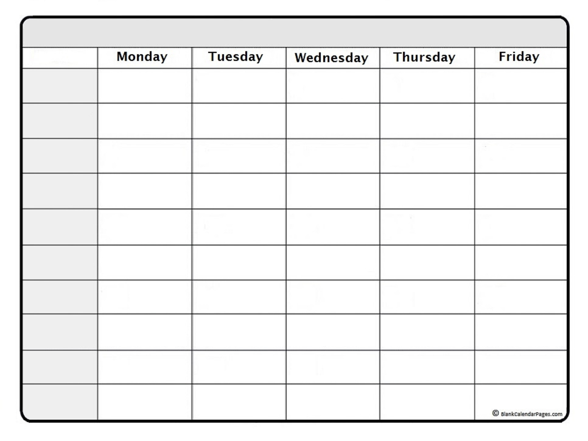 Schedule Template March Weekly Calendar Printable Free | Smorad pertaining to Blank Weekly Calendar Print Outs