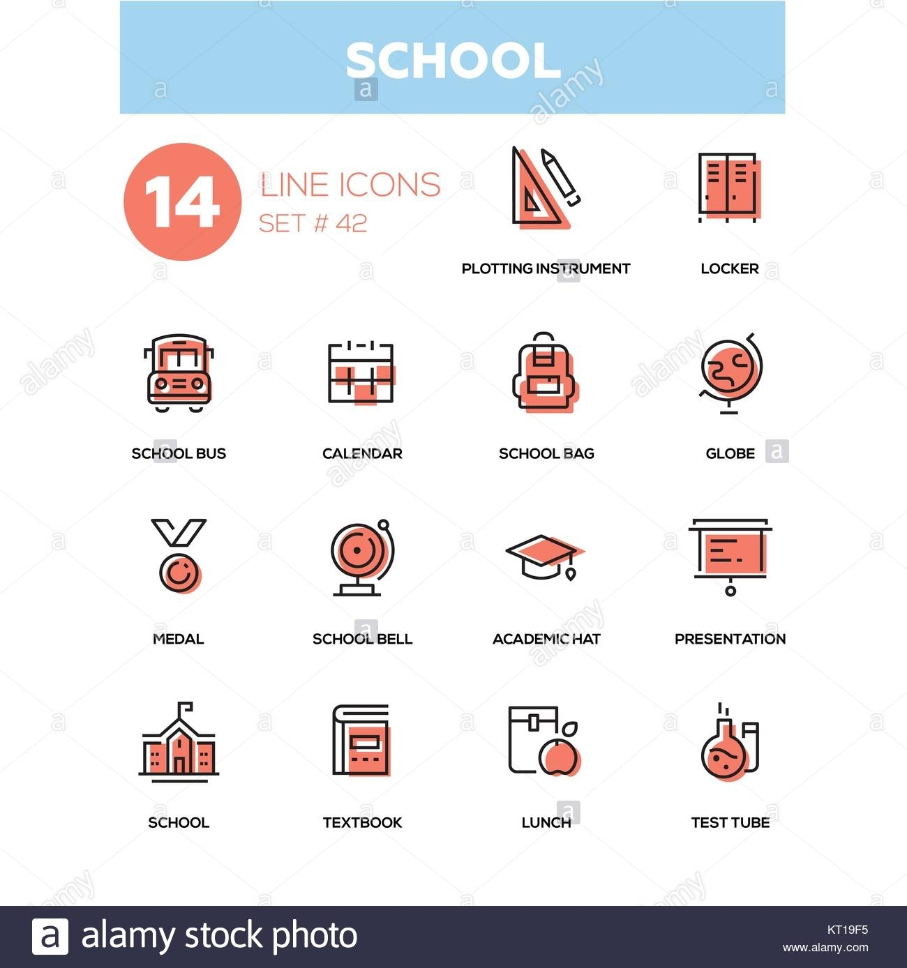 School Lunch Stock Vector Images - Alamy regarding Printable Calendars With Designs By Meatpixel
