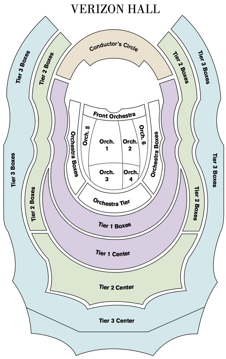 Seating Map | The Philadelphia Orchestra with regard to Verizon Center Seating Chart Pdf
