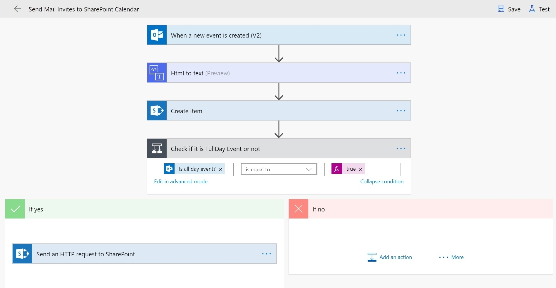 Send Meeting Invites To Sharepoint Online Calendar - Cloud Decoded intended for Flow Template To Copy Dates From Sharepoint Calendars