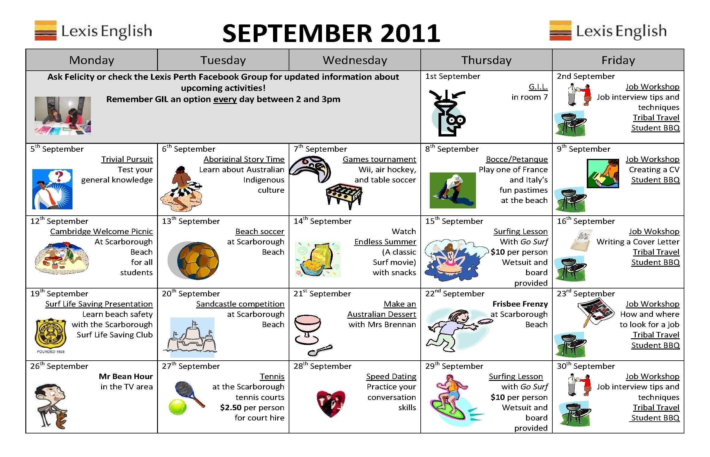 September Content Calender Aus Perth | Template Calendar Printable for September Content Calender Aus Perth