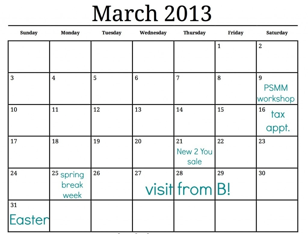 Spring Cleaning Calendar Just For You | Making Lemonade inside Calenders And To Keep Up Withstuff