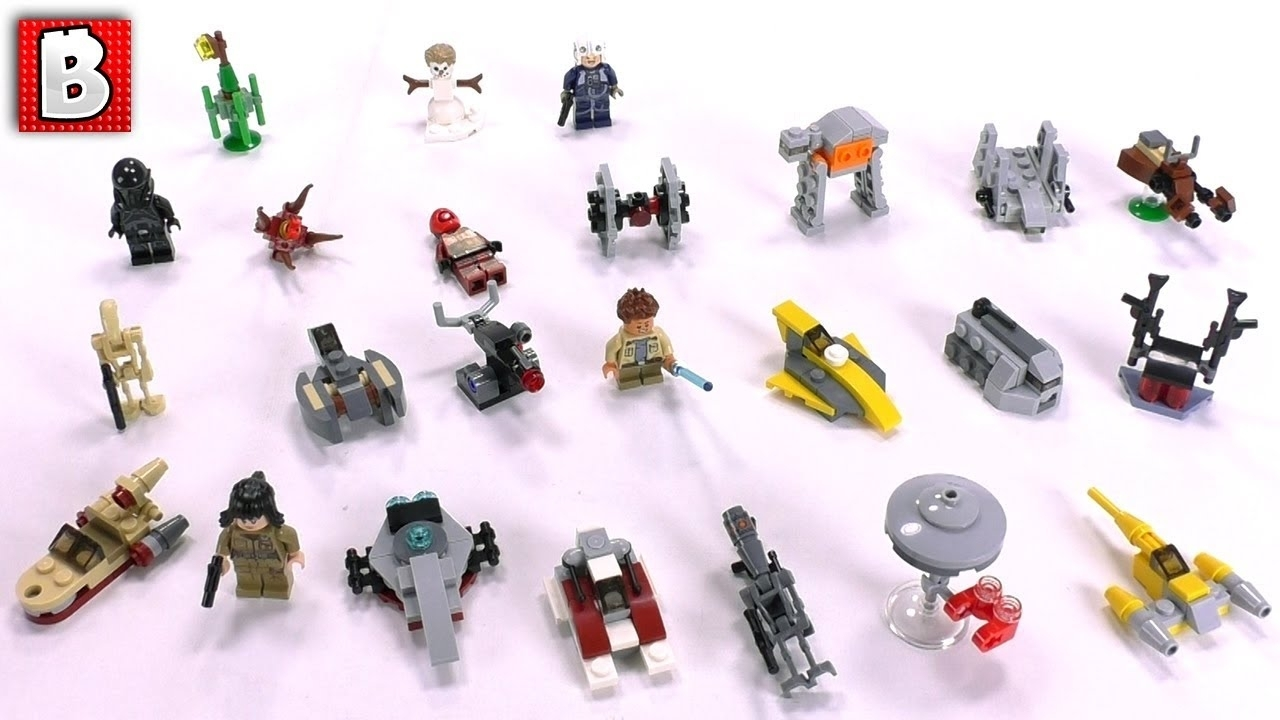 Star Wars Lego Advent Calendar 2018 Full Review And Spoilers - Youtube with regard to All Star Wars Advent Calendar