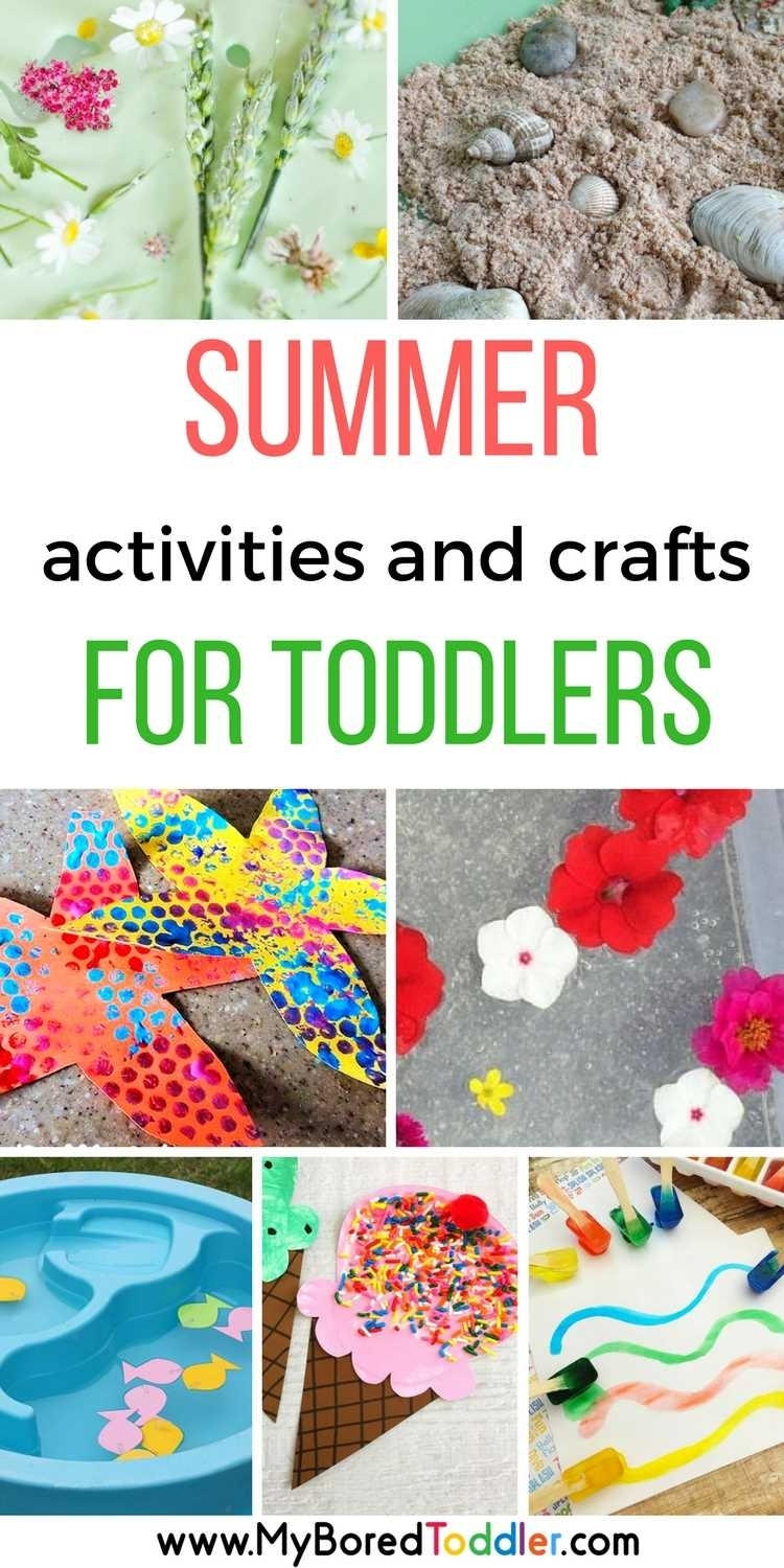 Summer Activities For Toddlers - My Bored Toddler in Daily Summer Activities For Preschoolers