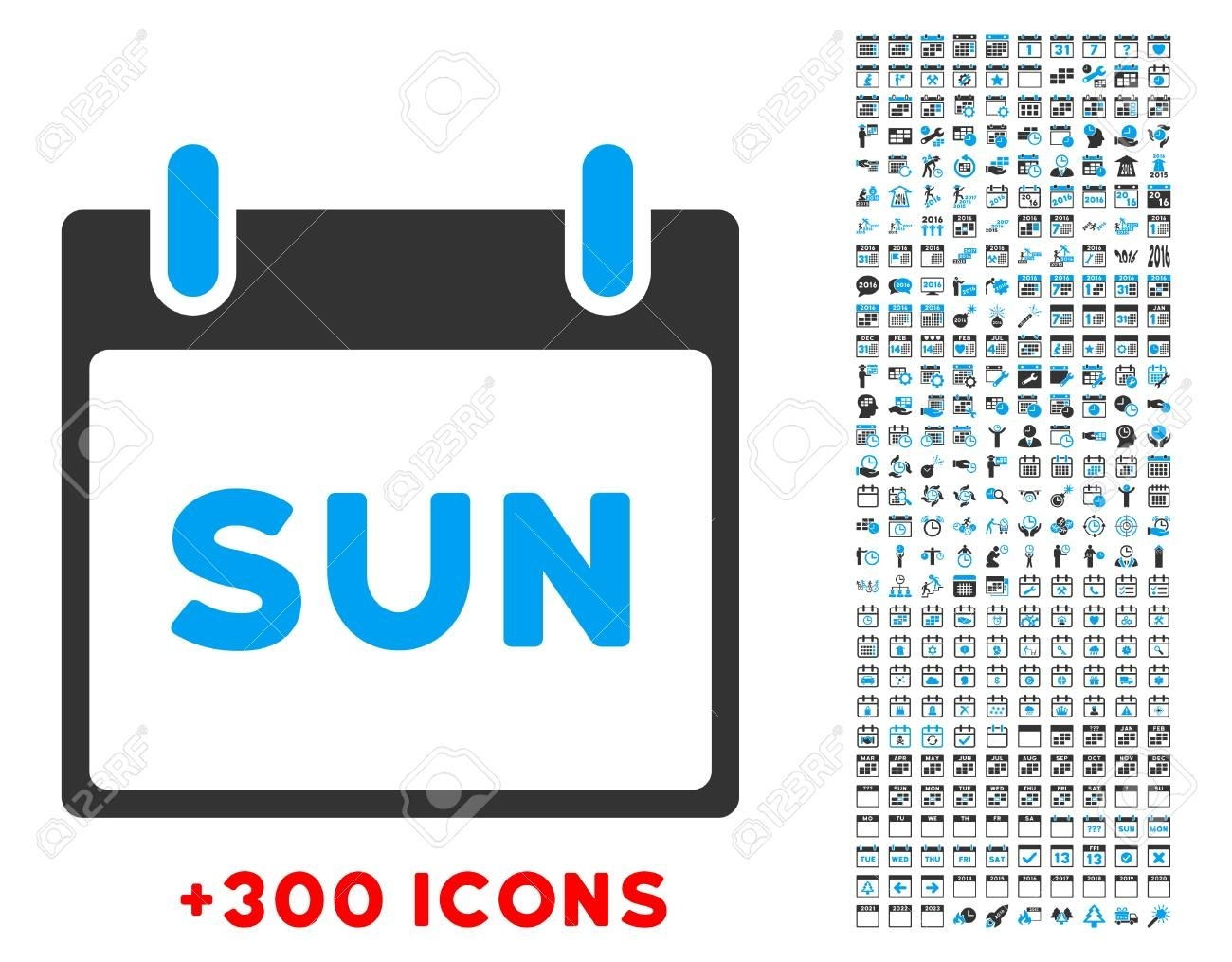 Sunday Vector Pictogram With Additional 300 Date And Time Management with Time Management Monday To Sunday