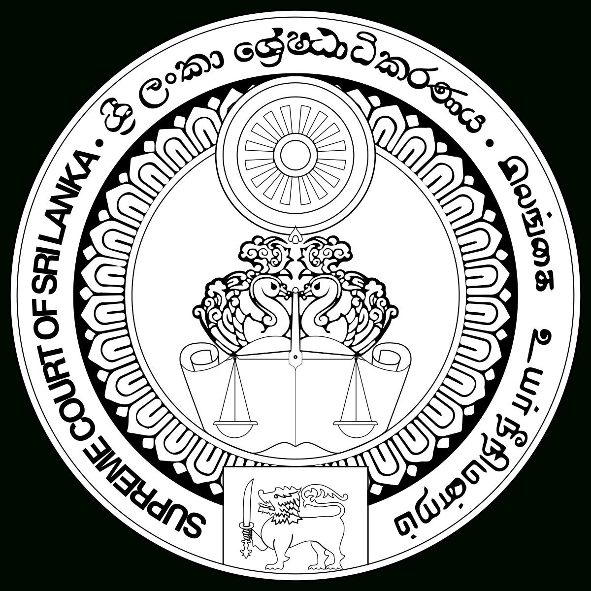 Supreme Court Of Sri Lanka - Wikipedia regarding 2012 Calendar Sri Lanka With All Holidays