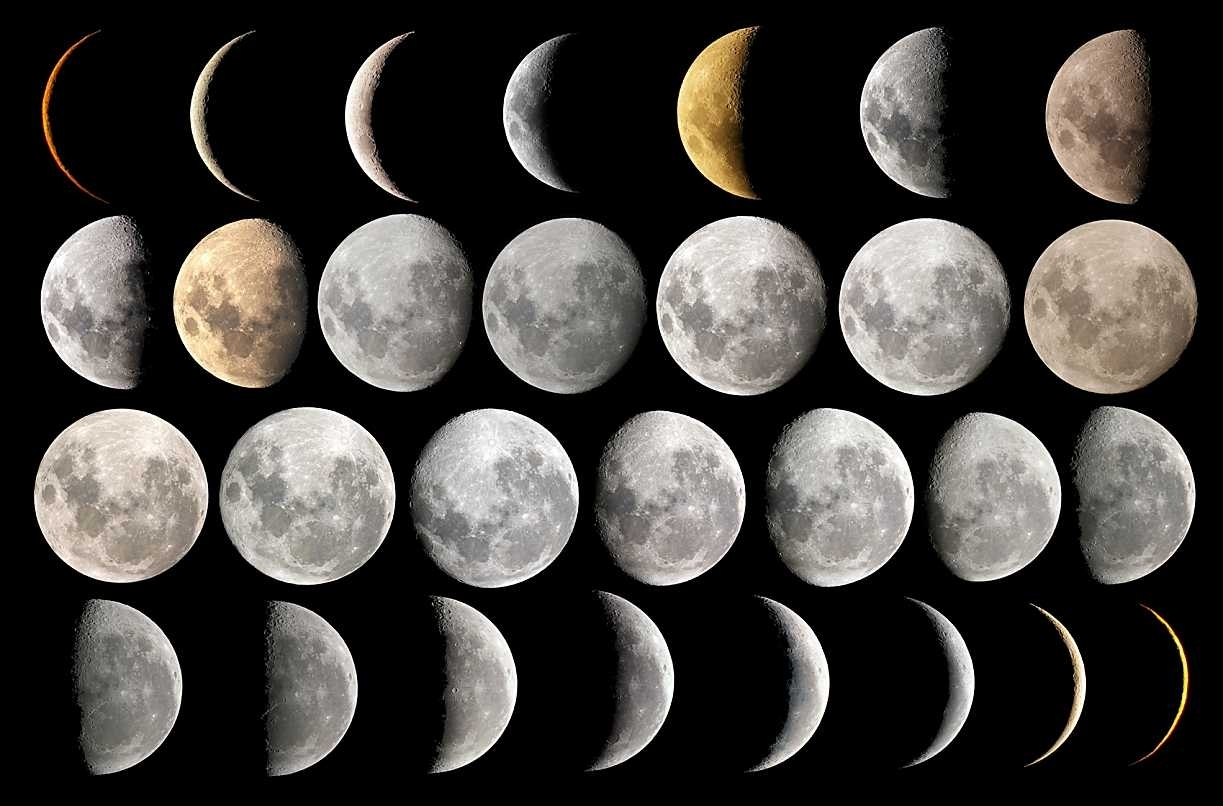 Teaching Moon Phases regarding Phases Of The Moon Over The Month