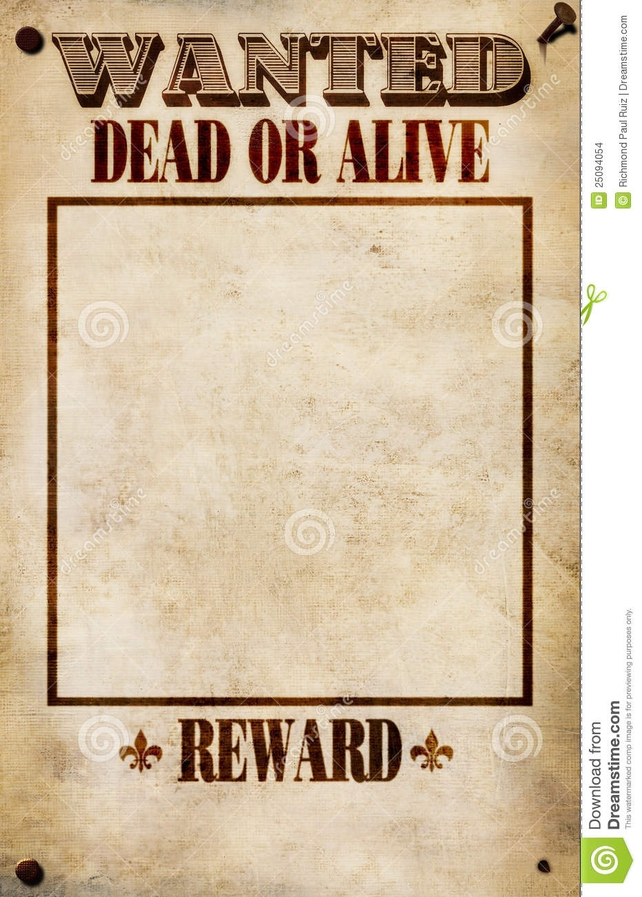 Template: Wanted Poster Template Microsoft Word Posters For Free intended for Free Printable Wanted Poster Template