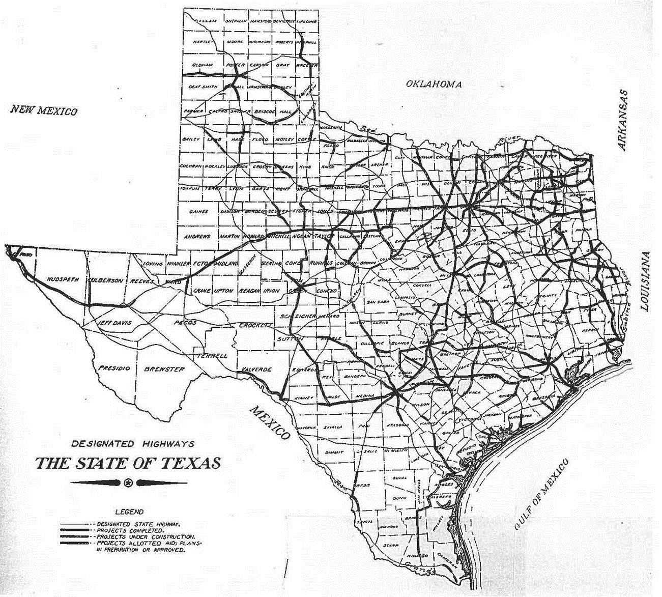 Texas Highway Department | Thc.texas.gov - Texas Historical Commission intended for Txdot Set Up Calendar Image Outlook