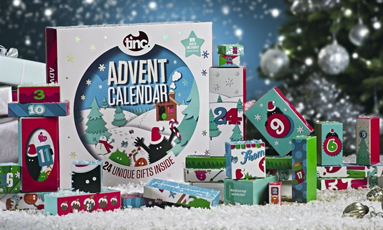Tinc 2018 Stationery & Gifts Advent Calendar Now Available inside Girls Advent Calendar With Gifts